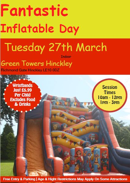 Inflatable Day FunHouse Leisure