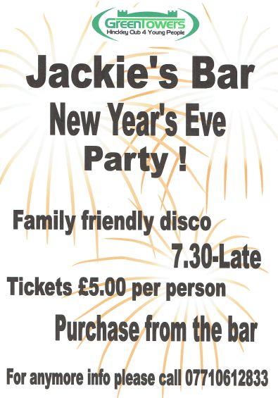 JB NYE Party Promo