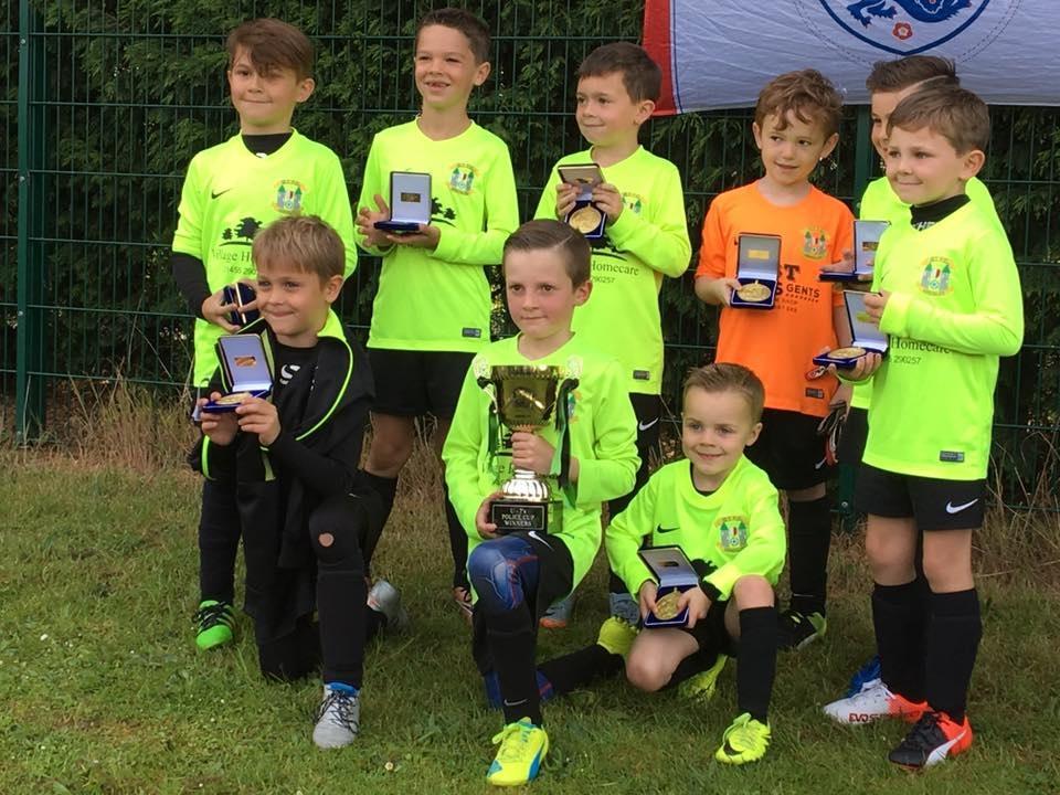 U7s Police Cup Win 2017