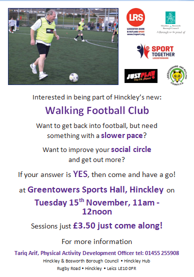 Walking Football Poster